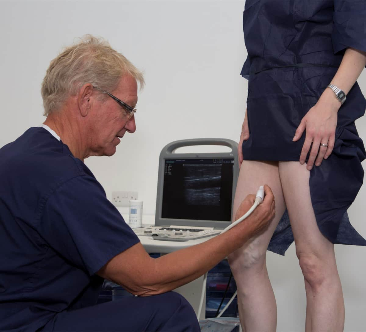 Varicose veins consultation at Veincentre